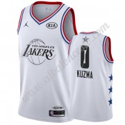 Camisetas NBA Baratas Los Angeles Lakers 2019 Kyle Kuzma 0# Blanco All Star Game Swingman..
